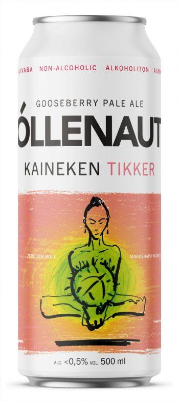 Õllenaut Kaineken Non-Alcoholic Tikker 50cl CAN