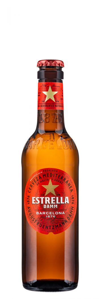 Estrella Damm 33cl bottle