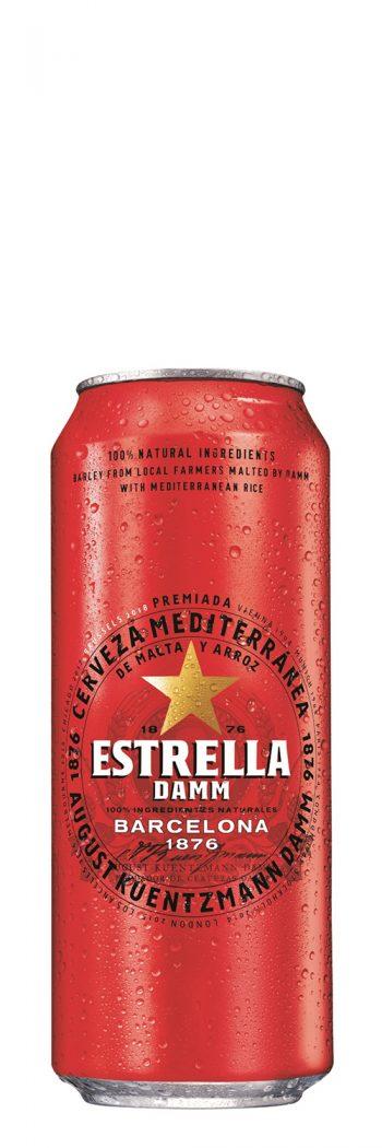 Estrella Damm 50cl CAN