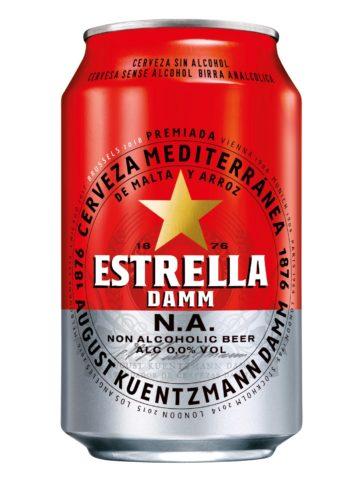 Estrella Damm Alcohol-Free Beer 33cl CAN