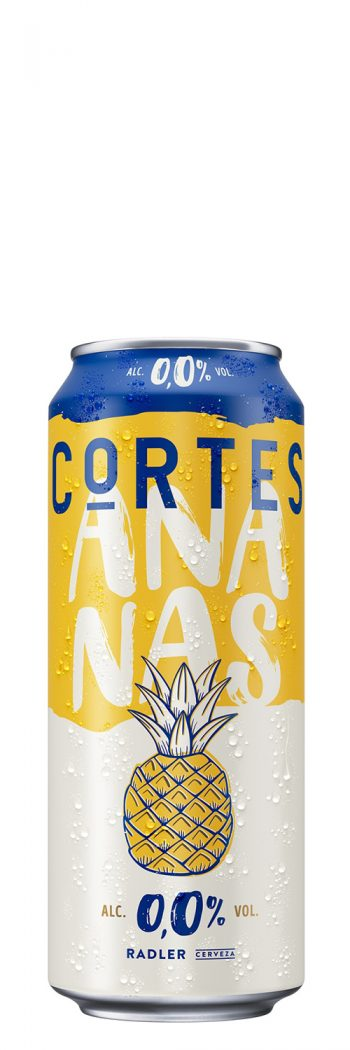 Cortes Radler Pineapple Alcohol-Free 0.0% 50cl CAN