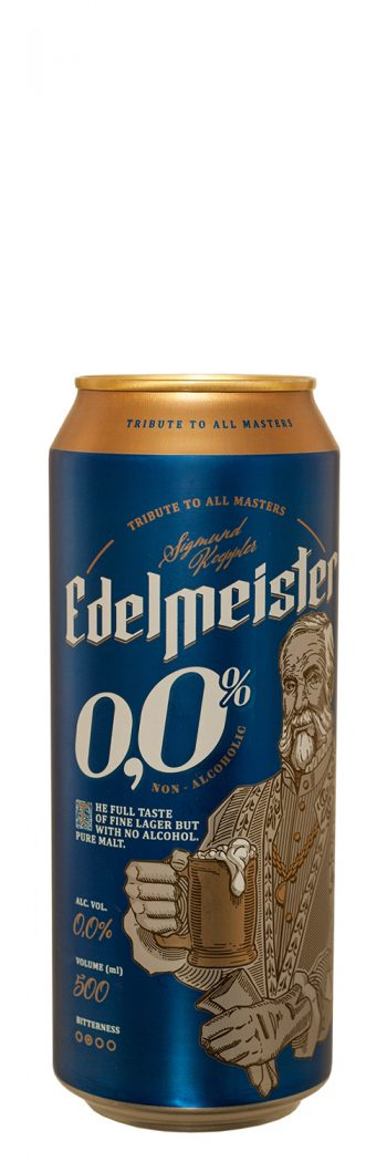 Edelmeister Alcohol-Free Beer 50cl CAN