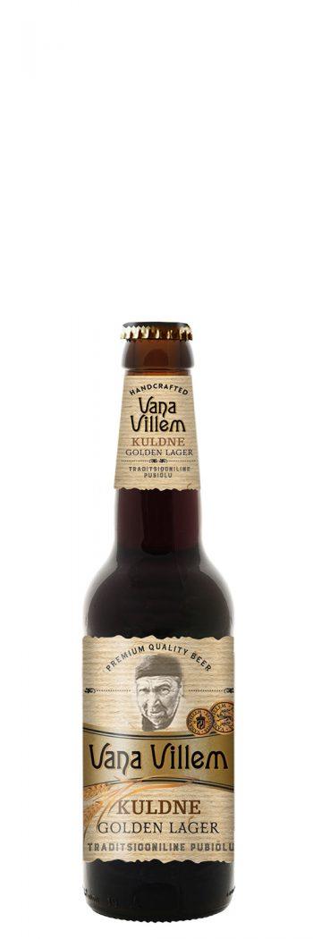 Vana Villem Golden Lager Kuldne 5.0% 33cl