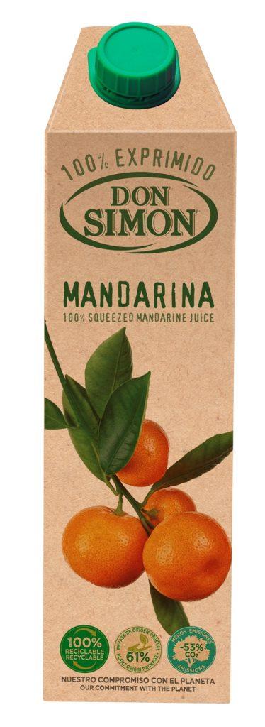 Don Simon 100% mandariinimahl 100cl tetra