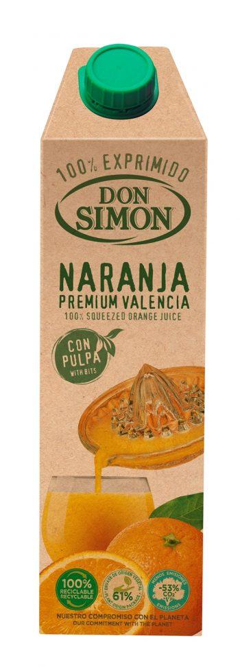 Don Simon 100% apelsinimahl viljalihaga 100cl tetra