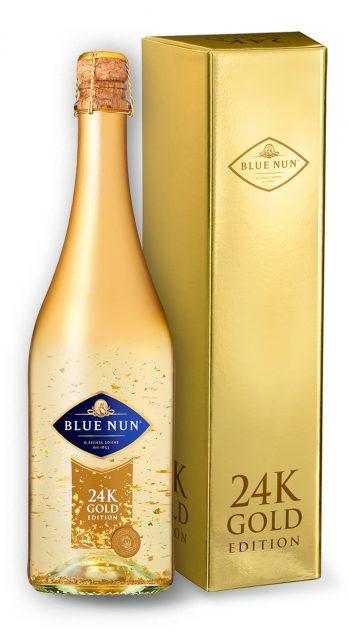 Blue Nun 24K Gold Edition 75cl kuldses kinkekarbis