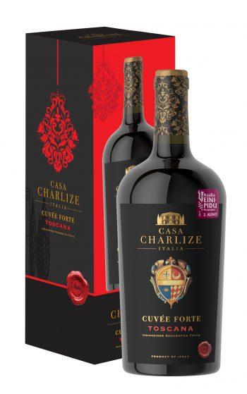 Casa Charlize Cuvée Forte Toscana Rosso IGT 75cl giftbox