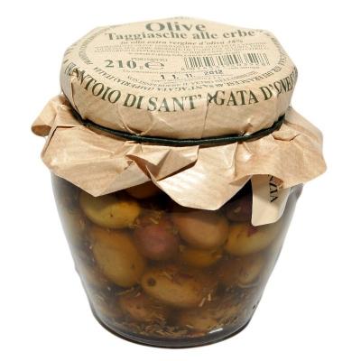 Frantoio Taggiasca oliivid ürtidega
