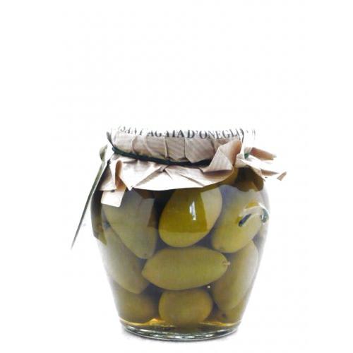 Frantoio suured rohelised oliivid