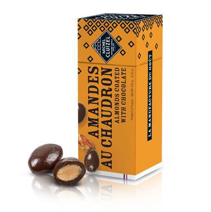 Michel Cluizel šokolaadiga kaetud röstitud mandlid
