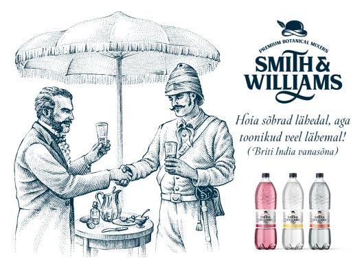 SMITH & WILLIAMS UUED TOONIKUD