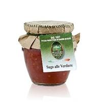 Frantoio di Sant`Agata d`Oneglia tomatikaste basiilikuga